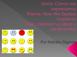 Título:expresa tus ideas y sentimientos