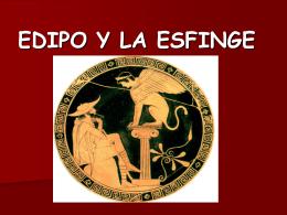 EDIPO Y LA ESFINGE - CULTURACLASICA