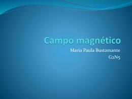 Campo magnético de una espira