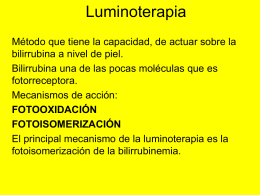 luminoterapia - Catedra Neonatología | Just