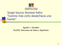 "Single-Source Shortest Paths "" Camino más corto"