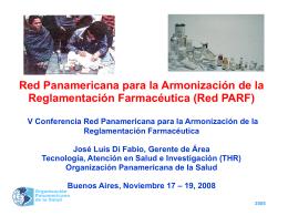 Red Panamericana para la Armonización de la