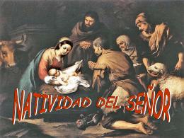 Ciclo B - Navidad: Natividad del Señor