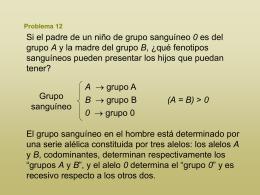 Problema 12 - :::Recursos de Biología y Geología