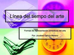 Línea del tiempo del arte