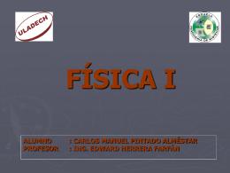 FÍSICA I - Fisica I | Just another WordPress.com