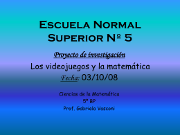 Escuela Normal Superior Nº 5