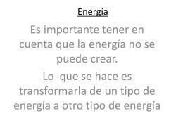 Energía - fisicajavieravila