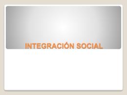 Modelo de integración socio