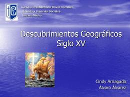 Descubrimientos geográficos Siglo XV