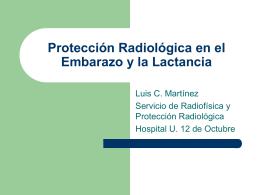 Protección Radiológica en el embarazo y la