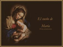 El sueño de María