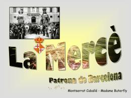 La Mercè - Patrona de Barcelona