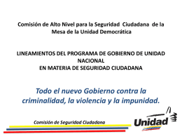 Comisión de Alto Nivel para la Seguridad Ciudadana