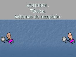 VOLEIBOL. Sistemas básicos de juego.