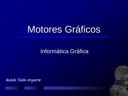 Motores Gráficos - Departament d`Informàtica
