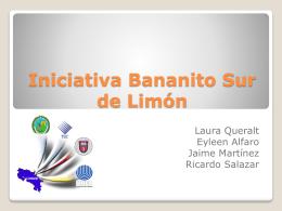 Iniciativa Bananito Sur de Limón