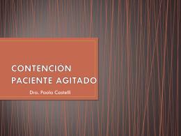PROTOCOLO DE CONTENCIÓN PARA PERSONAS CON