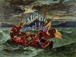 EL MILAGRO EN EL LAGO - Catequesis de Cádiz y