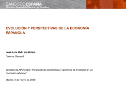 EVOLUCIÓN DE LAS EMPRESAS NO FINANCIERAS ESPAÑOLAS