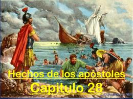 """El Libro de Hechos El evangelio llegando """" hasta"""