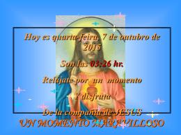 Visita de Jesús