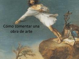 Cómo comentar una obra de arte