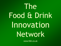 JHCI - The Food & Drink Innovation Network