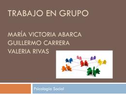 Trabajo en grupo María Victoria Abarca Guillermo