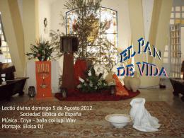 EL PAN DE VIDA - Catequesis de Cádiz y Ceuta |