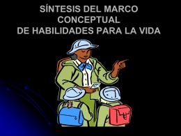 SÍNTESIS DEL MARCO CONCEPTUAL DE HABILIDADES PARA