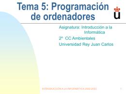 Tema 4: Comunicación persona