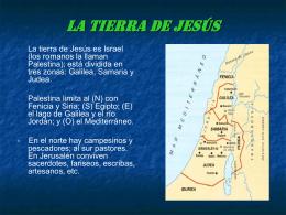 LA PERSONA DE JESÚS