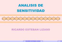 SENTIVIDAD - Inicio | Facultad de Ciencias