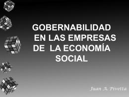 GOBERNABILIDAD EN LA EMPRESA DE LA ECONOMÍA MUDIAL