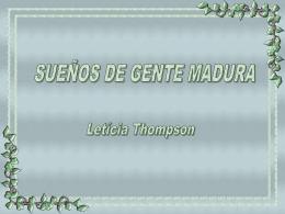 Sueños_de_gente_madura - Page créée exclusivement