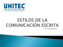 PROPOSITOS DE LA COMUNICACIÓN ESCRITA
