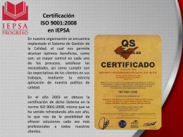¿Qué es ISO 9000 y qué efectos tiene para la