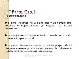 1º Parte. Cap. I, II y III