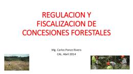 NÚMERO DE CONCESIONES FORESTALES CADUCADAS POR