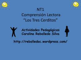 NT2 Comprensión Los tres cerditos