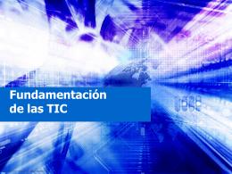Fundamentación de las TICS