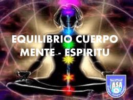 Equilibrio cuerpo mente espiritu