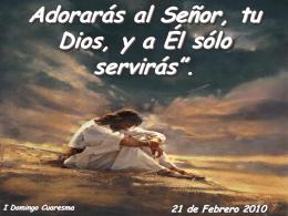 domingo 1° cuaresma las tentaciones