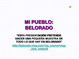 MI PUEBLO: BELORADO - IES Hipólito Ruiz López