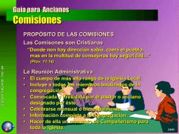 Guia para Anciãos Das Comissões