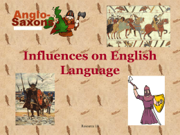 Viking influences on English