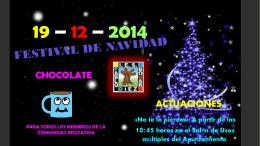 19 – 12 – 2014 - IES PABLO DÍEZ