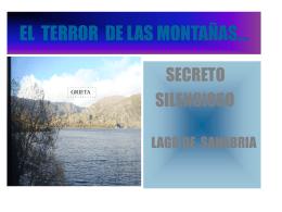 EL TERROR DE LAS MONTAÑAS