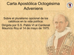 Octogésima Adveniens